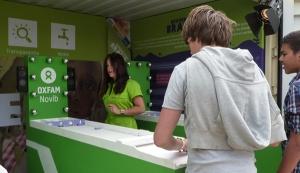 Oxfam Novib Shuffleboards